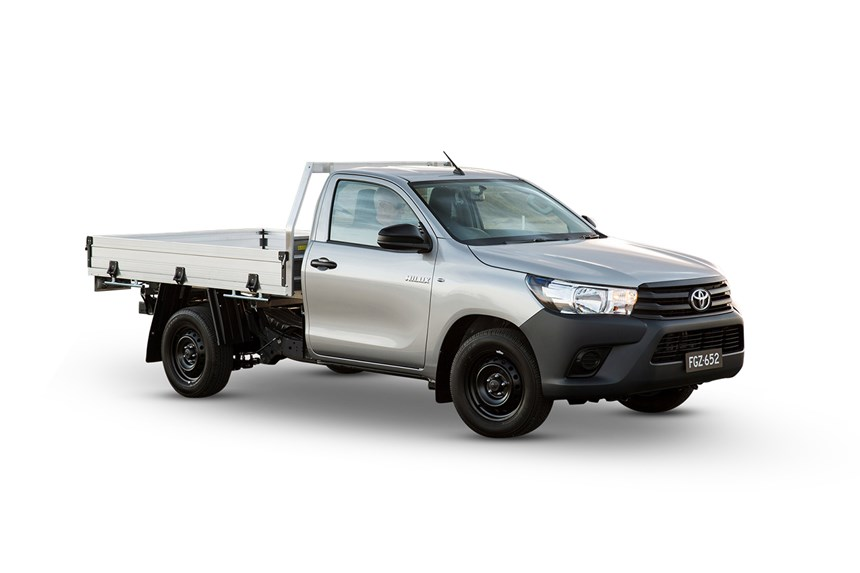 2018 Toyota Hilux Workmate 4x4 2 4l 4cyl Diesel Turbocharged Manual Cab Chassis