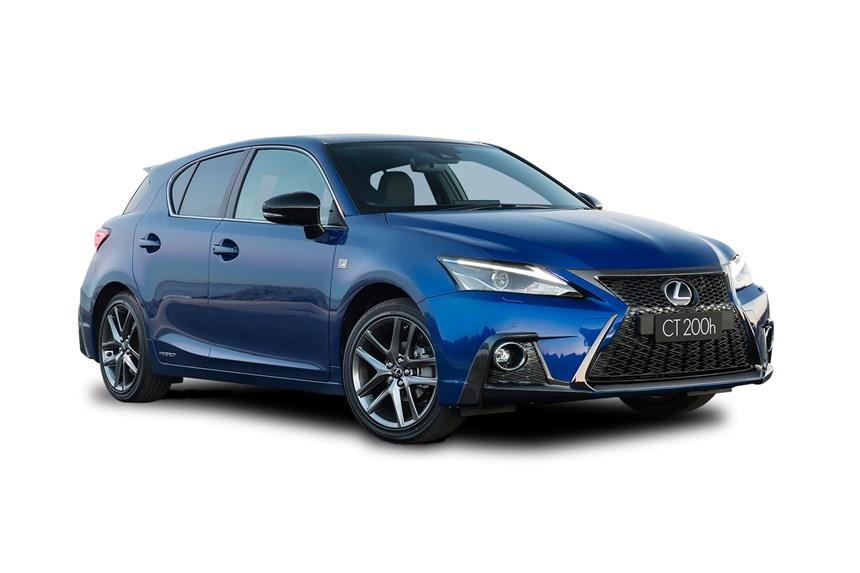 2018 lexus ct 200h f sport hybrid, 1.8l 4cyl hybrid automatic
