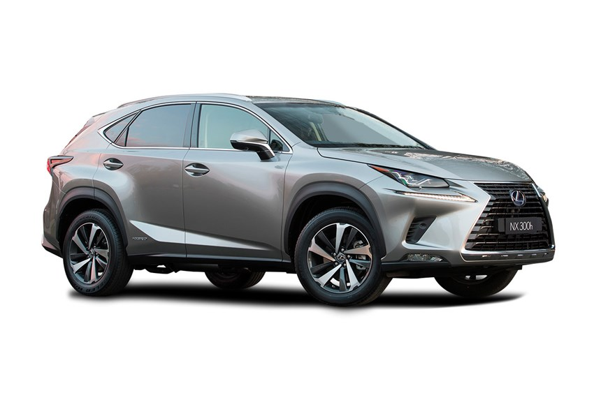 2018 lexus nx 300h sports luxury hybrid awd 2 5l 4cyl hybrid automatic suv. Black Bedroom Furniture Sets. Home Design Ideas