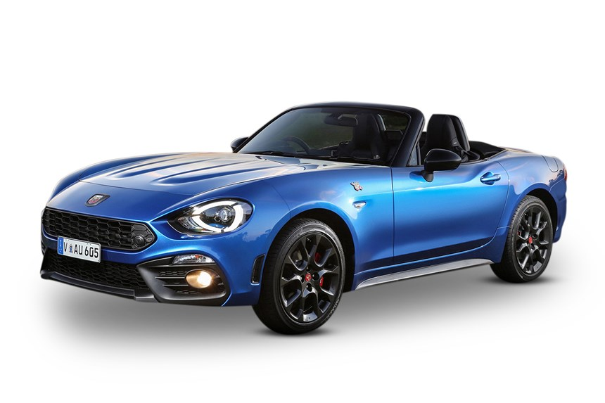 2018 abarth 124 spider 1 4l 4cyl petrol turbocharged manual convertible. Black Bedroom Furniture Sets. Home Design Ideas