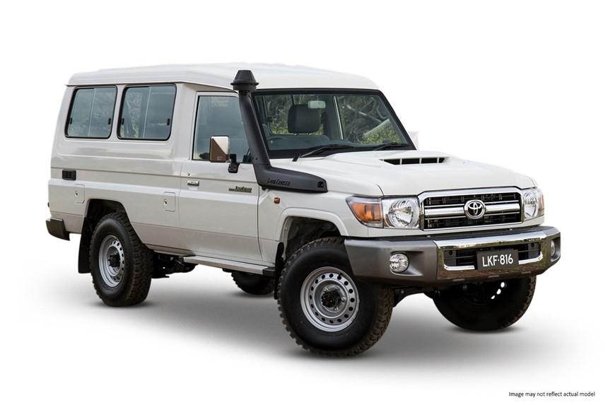 2019 Toyota LandCruiser Workmate (4x4), 4.5L 8cyl Diesel ...