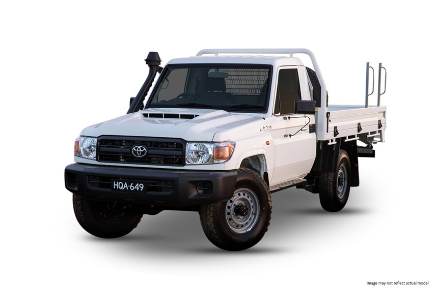 2019 Toyota LandCruiser Workmate (4x4), 4 5L 8cyl Diesel