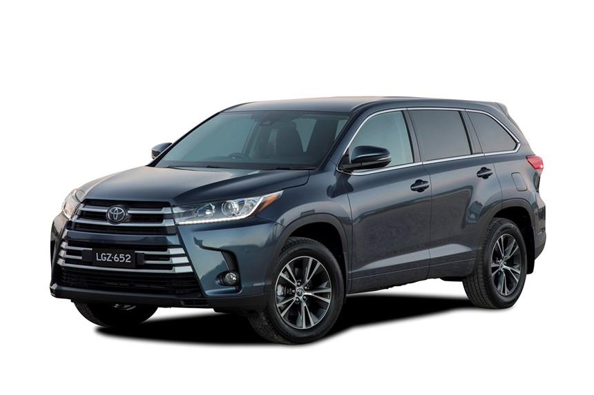 2018 Toyota Kluger Gx 4x4 3 5l 6cyl Petrol Automatic Suv