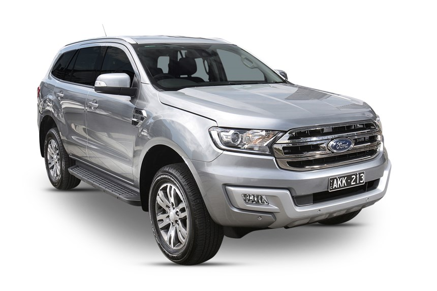 2018 Ford Everest Trend (4WD), 3.2L 5cyl Diesel Turbocharged Automatic, SUV