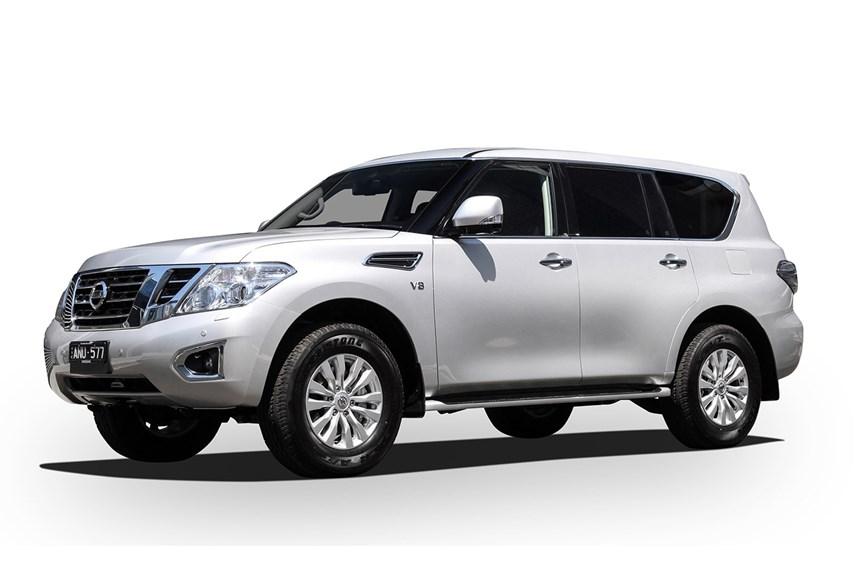 Bardzo dobry 2019 Nissan Patrol Ti (4x4), 5.6L 8cyl Petrol Automatic, SUV EH07