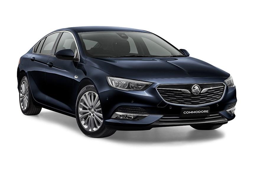 2018 Holden Calais 2 0l 4cyl Petrol Turbocharged