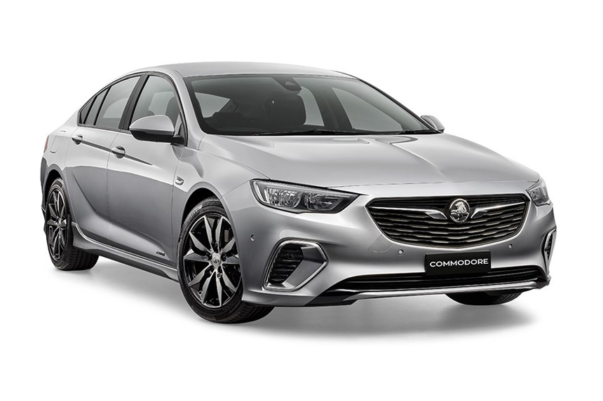 2018 Holden Commodore RS, 2.0L 4cyl Petrol Turbocharged Automatic ...