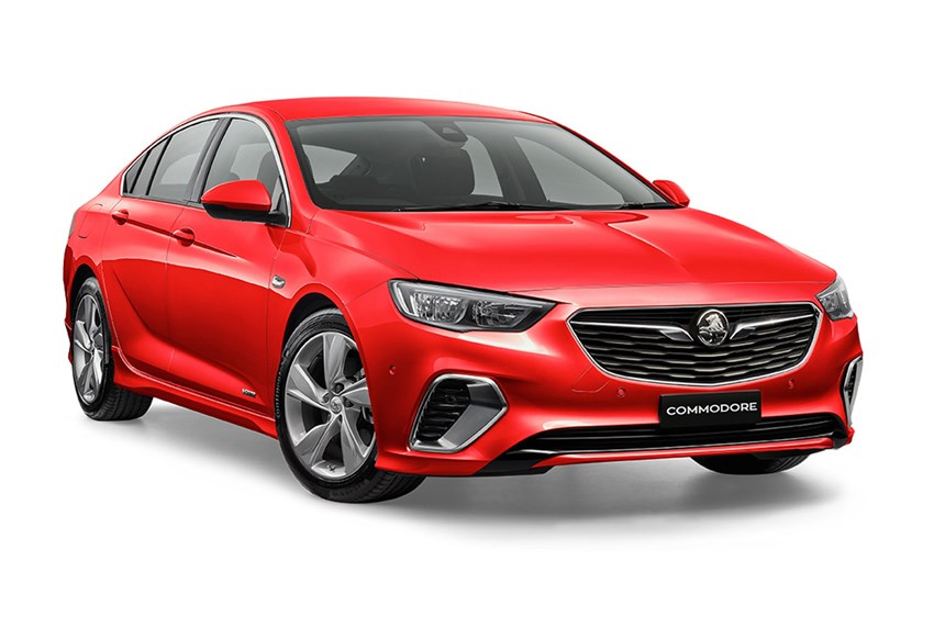 2018 Holden Commodore Rs-V, 3.6L 6cyl Petrol Automatic ...