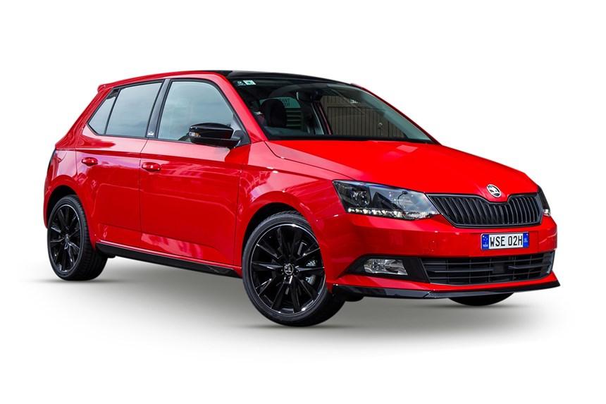 2018 skoda fabia 81 tsi monte carlo 1 0l 4cyl petrol turbocharged automatic hatchback. Black Bedroom Furniture Sets. Home Design Ideas