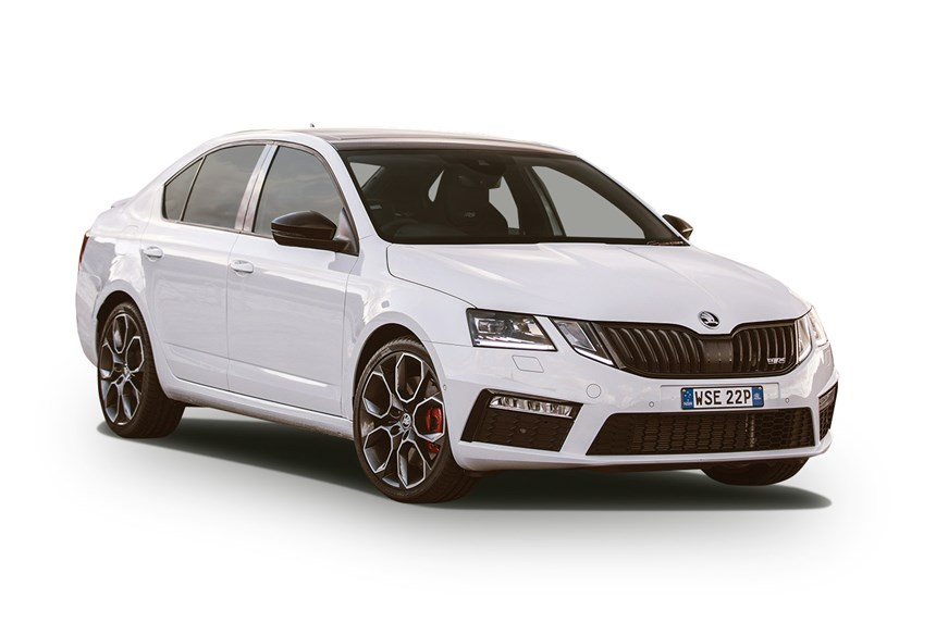 skoda octavia rs  tsi  cyl petrol turbocharged automatic sedan