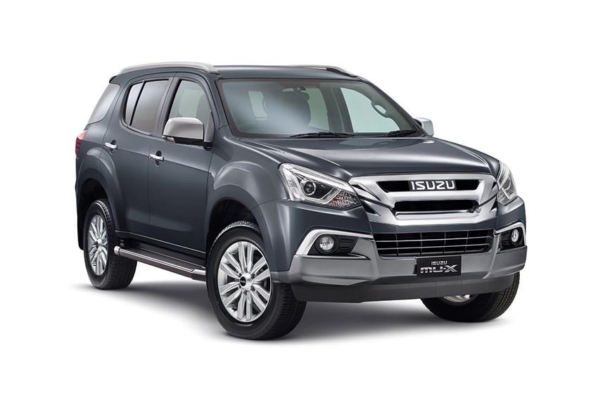 2018 Isuzu MU-X LS-T (4x4), 3.0L 4cyl Diesel Turbocharged
