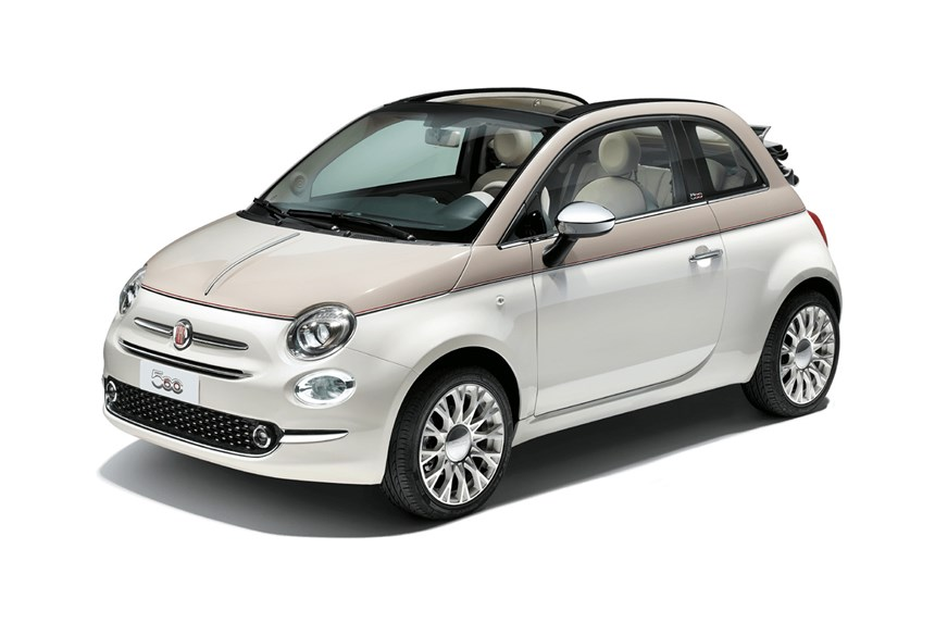 2019 Fiat 500 Lounge 1 2l 4cyl Petrol Automatic Convertible