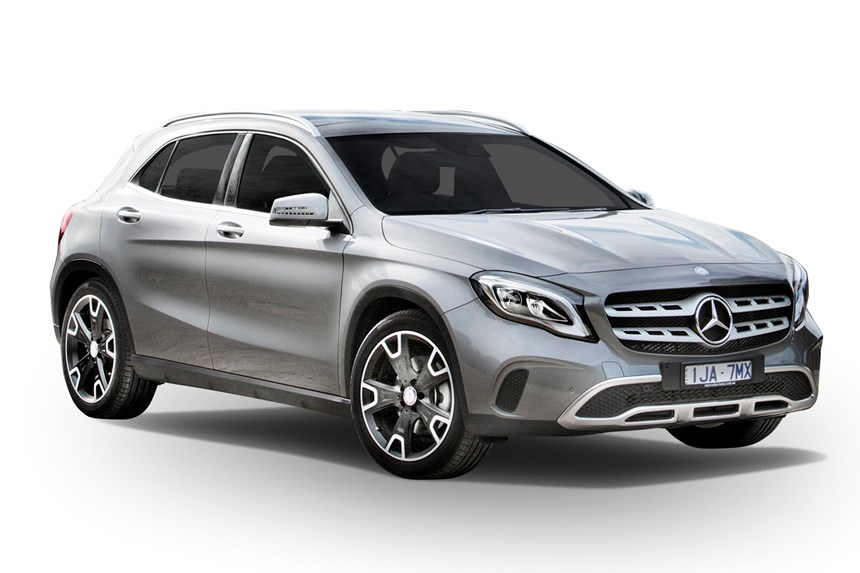 2018 mercedes benz gla 180 1 6l 4cyl petrol turbocharged automatic suv. Black Bedroom Furniture Sets. Home Design Ideas