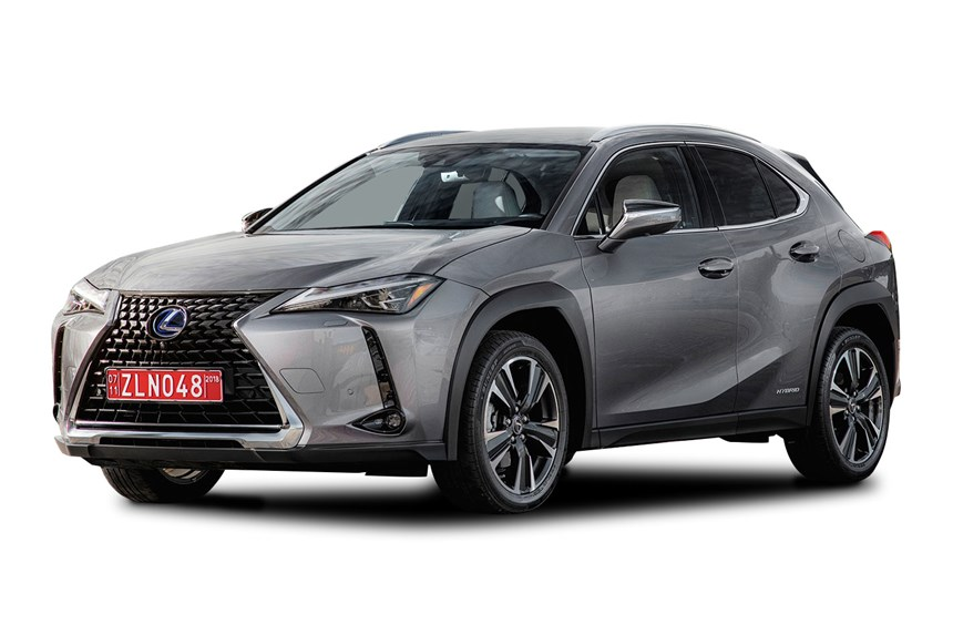 2019 lexus ux 250h sports luxury hybrid awd automatic 2 0l 4d wagon