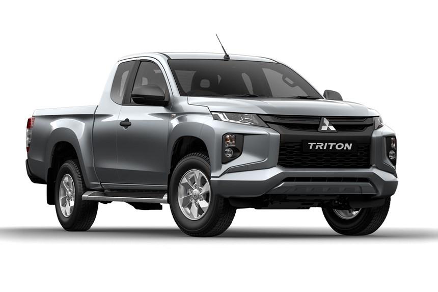2020 Mitsubishi Triton GLX Plus (4x4), 2.4L 4cyl Diesel ...