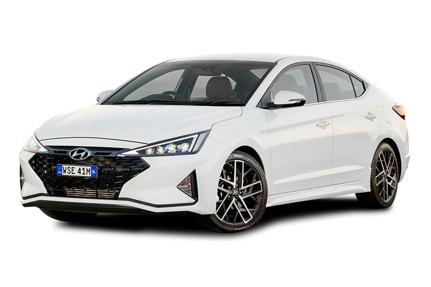 2020 Hyundai Elantra Sport 1 6l 4cyl Petrol Turbocharged Manual Sedan
