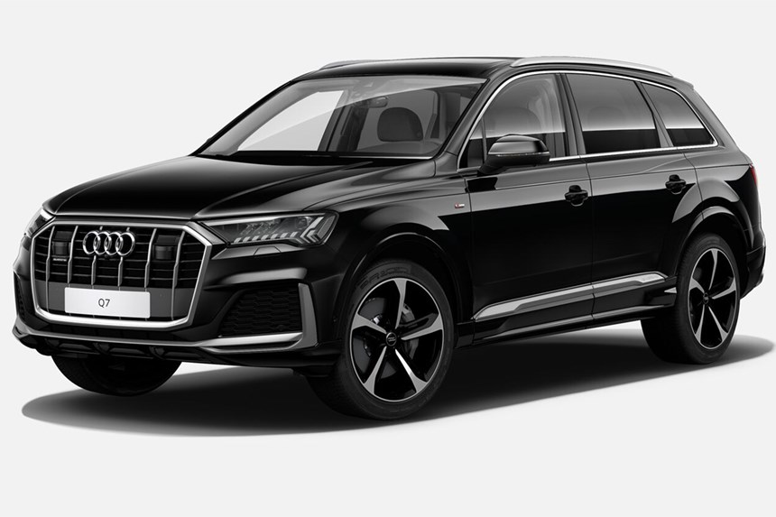 2020 Audi Q7 50 TDI quattro S line, 3.0L 6cyl Diesel ...