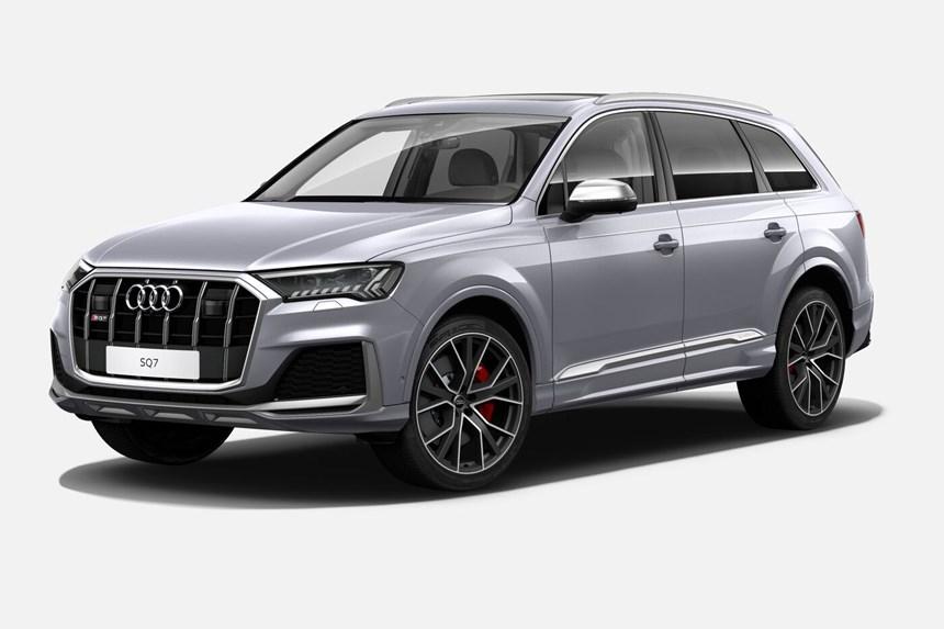 2020 Audi Sq7 Tdi Quattro 4 0l 8cyl Diesel Turbocharged Automatic Suv