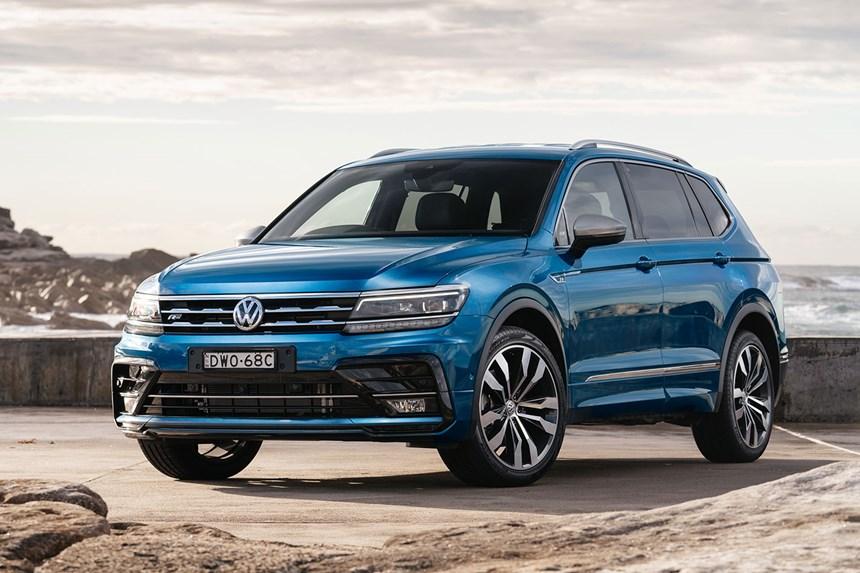2021 Volkswagen Tiguan Allspace Highline, 2.0L 4cyl Diesel ...