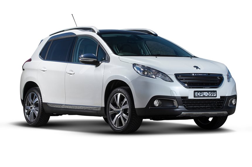 2017 Peugeot 2008 Active, 1 2L 3cyl Petrol Manual, SUV