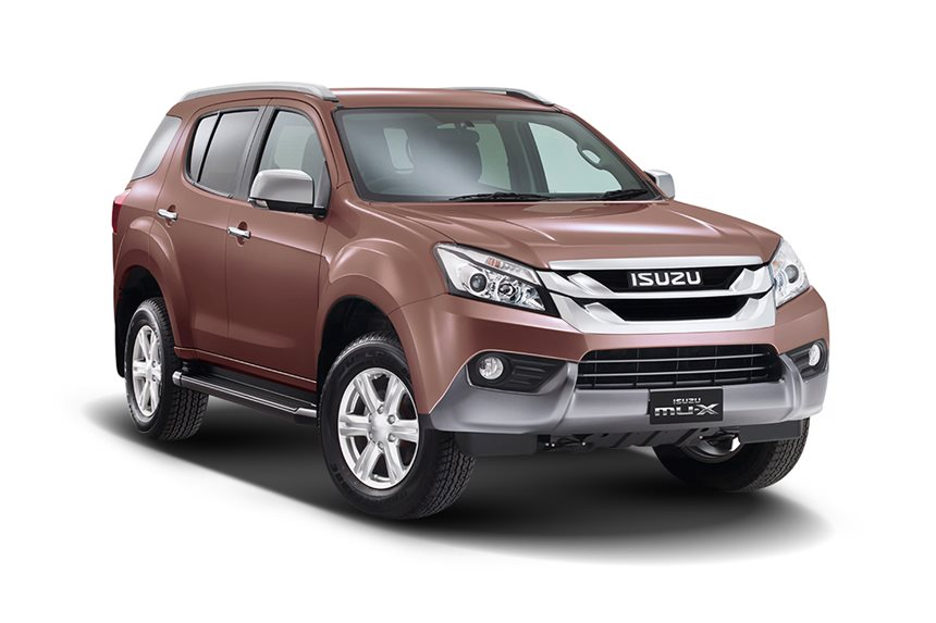 2016 isuzu mu x ls u 4x4 3 0l 4cyl diesel turbocharged manual suv. Black Bedroom Furniture Sets. Home Design Ideas