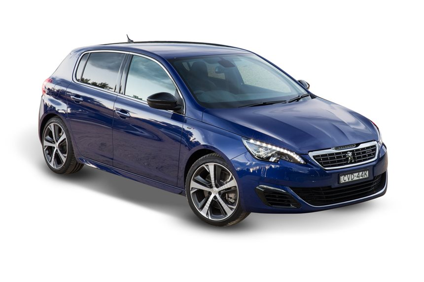 2017 peugeot 308 gt 1 6l 4cyl petrol turbocharged manual hatchback rh whichcar com au Peugeot 504 Peugeot 308 Interior