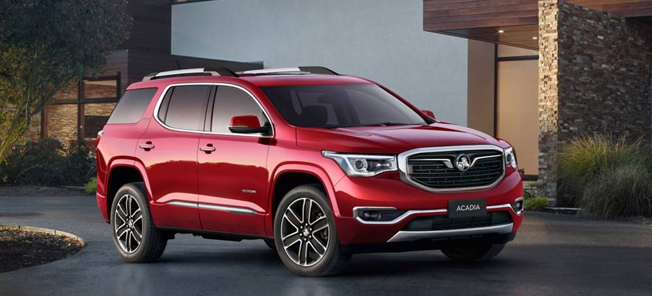 Holden Acadia Tipped To Miss Gmc Facelift