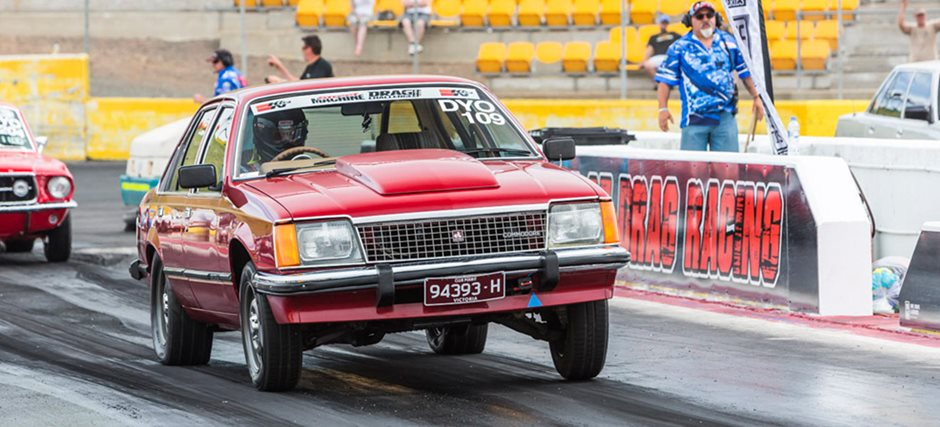 Turbo Ecotec V6-powered VB Commodore runs nines at Drag