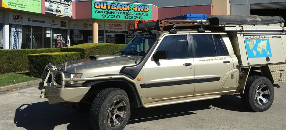 Nissan Patrol History