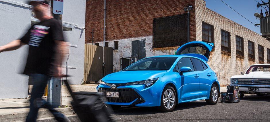 Ford Focus v Toyota Corolla v Volkswagen Golf comparison review