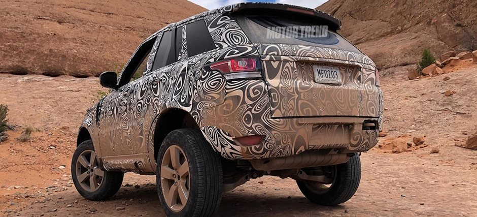 Land Rover Defender With Supercharged Jaguar F Type V6