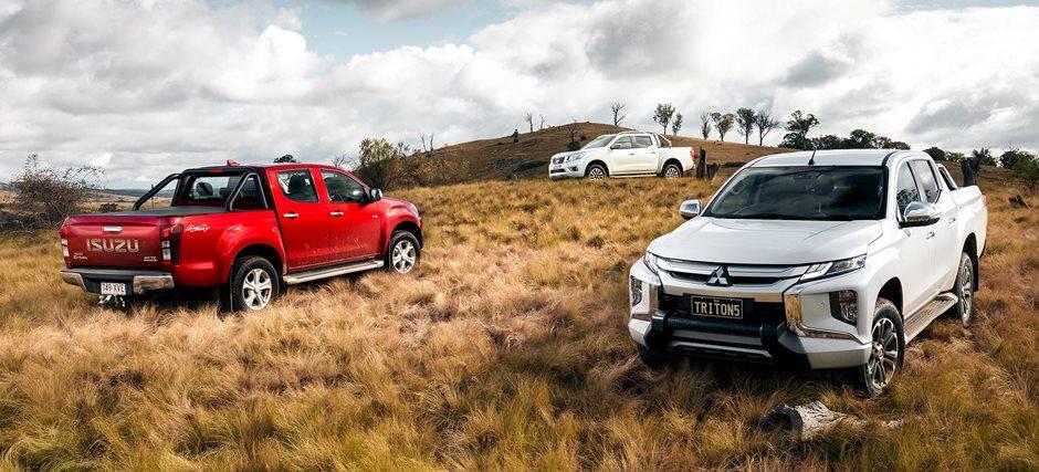 4x4 ute tow test: Ford Ranger v Toyota Hilux v Nissan Navara v Isuzu