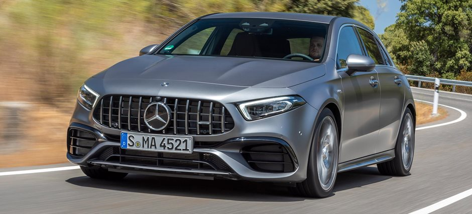 2020 Mercedes-AMG A45 S preview