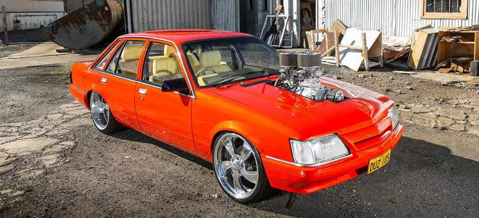TURBO 355 HOLDEN STROKER-POWERED 1984 HDT VK CALAIS