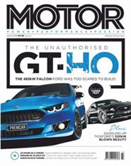 Subscribe to MOTOR Magazine
