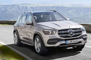 Watch the Mercedes-Benz GLE's trick suspension do a dance