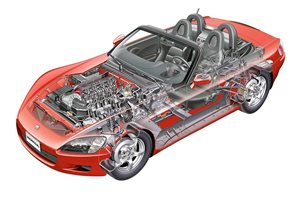 Honda S2000 reproduction parts announced