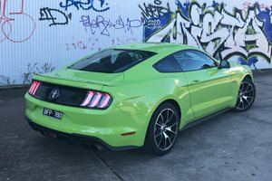 Ford Mustang 2.3L High Performance rear