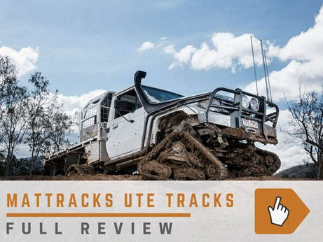 Mattracks ute tracks