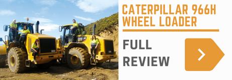 Cat 966H wheel loader review