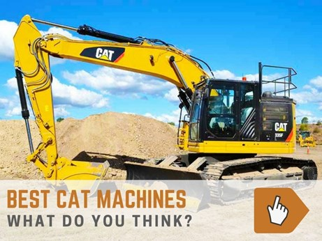 Best Caterpillar machines