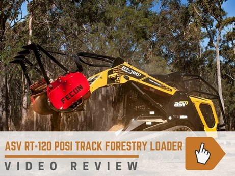 ASV RT-120 Posi Track loader