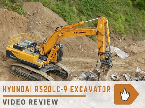 Hyundai R520LC-9 excavator review