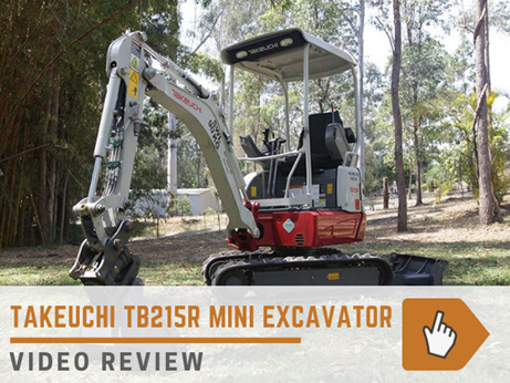 Takeuchi TB215R excavator review