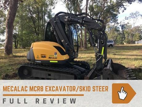 Mecalac MCR8 review