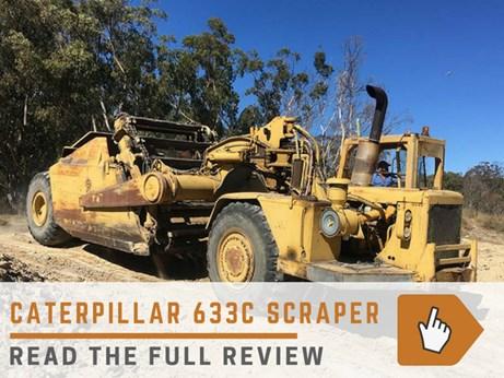 Cat 633C scraper