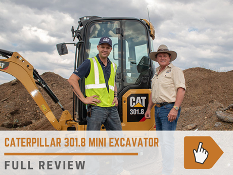 Caterpillar 301.8 mini excavator