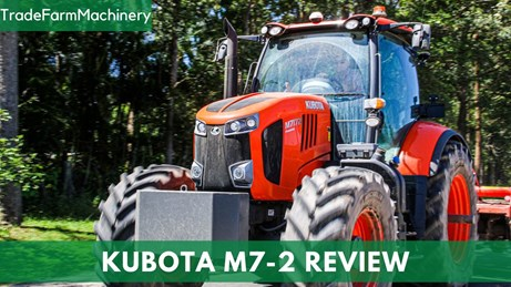 Kubota M7-2 tractor test review price and specs