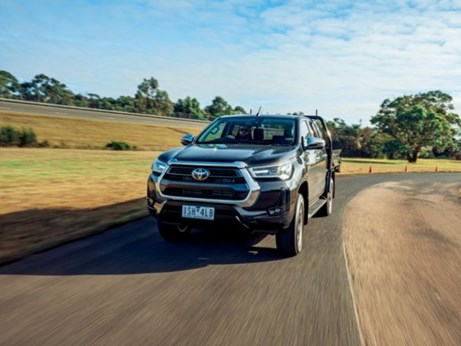 The Toyota Hilux SR5