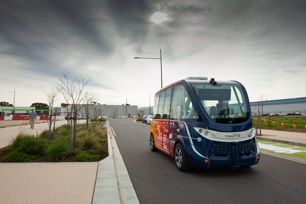 1 - Launched today - SA's first driverless sh uttle for public rioads mht.JPG